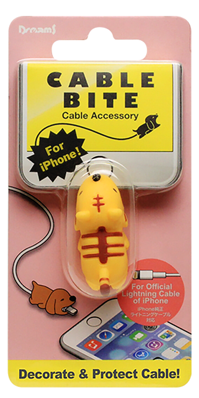 Apple iPhone XR kábelvédő tigris
