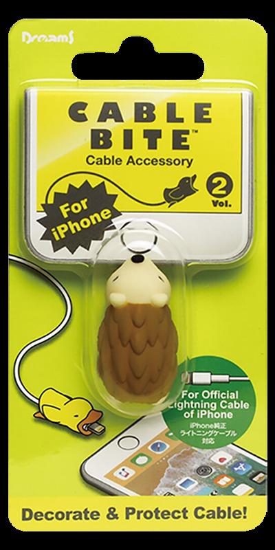 Apple iPhone 6S kábelvédő süni