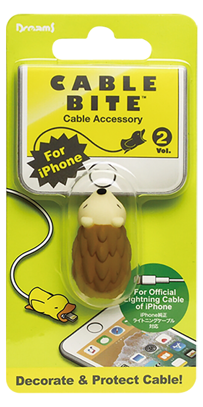 Apple iPhone 6S Plus kábelvédő süni