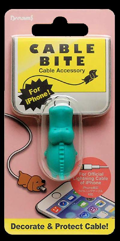 Apple iPhone XS kábelvédő krokodil