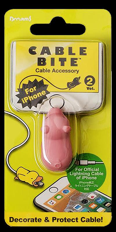Apple iPhone 6S Plus kábelvédő malac
