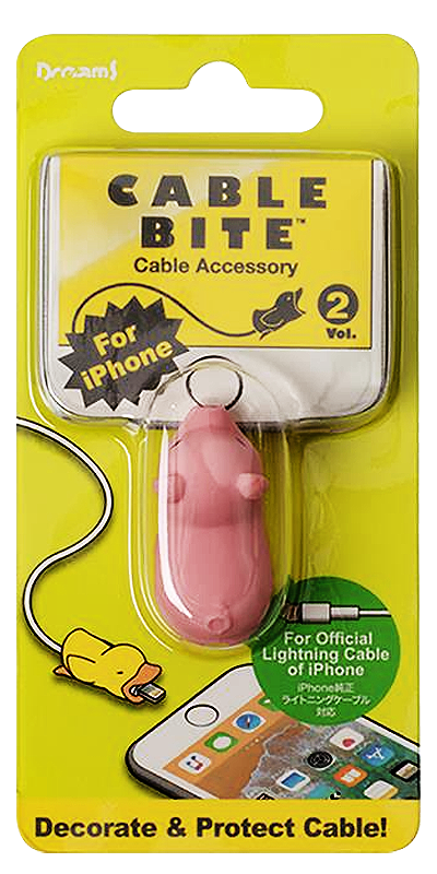 Apple iPhone 6S kábelvédő malac