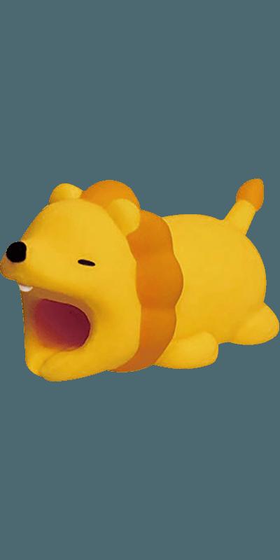 Apple iPhone 6S kábelvédő oroszlán