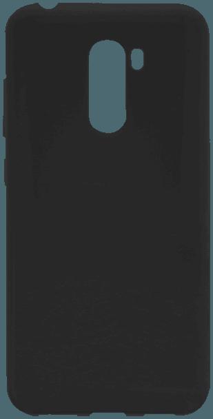 Xiaomi Pocophone F1 szilikon tok mágneses kompatibilitás fekete