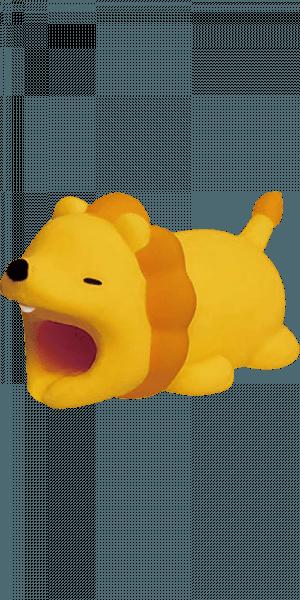 HTC U Play kábelvédő oroszlán