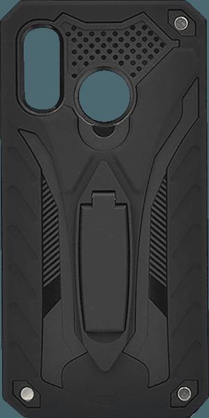 Samsung Galaxy A40 (SM-405) ütésálló tok kitámasztó fekete