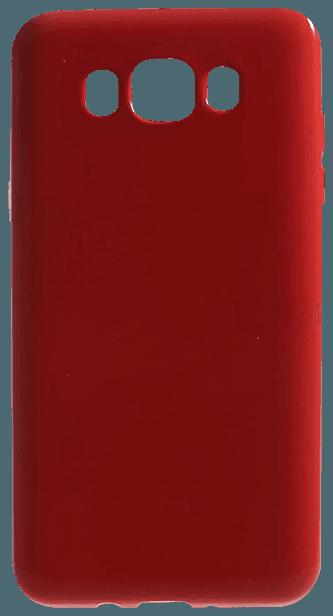 Samsung Galaxy J5 2016 (J510) szilikon tok fényes piros