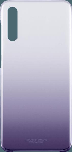 Samsung Galaxy A70 (SM-705) kemény hátlap gyári SAMSUNG színátmenetes lila