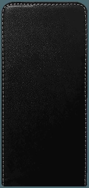 Apple iPhone 11 Pro lenyíló flipes bőrtok szilikon tartó fekete