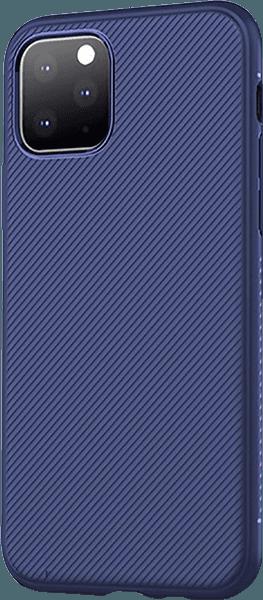 Apple iPhone 11 Pro szilikon tok csíkos kék