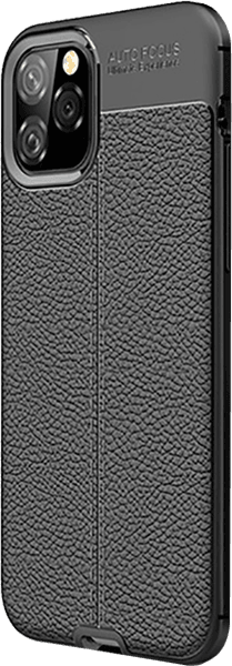 Apple iPhone 11 Pro szilikon tok varrás mintás fekete