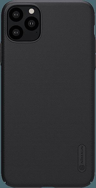 Apple iPhone 11 Pro kemény hátlap gyári NILLKIN gumírozott-érdes felületű fekete
