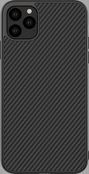Apple iPhone 11 Pro kemény hátlap gyári NILLKIN karbon mintás fekete