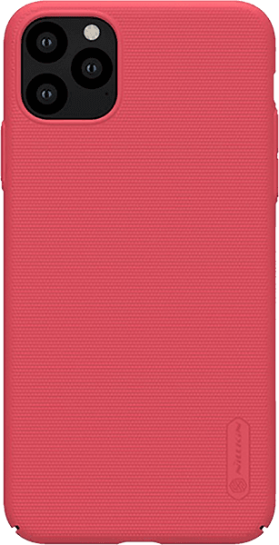 Apple iPhone 11 Pro kemény hátlap gyári NILLKIN gumírozott-érdes felületű piros