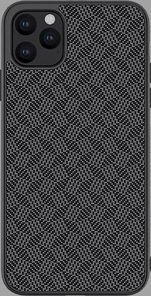 Apple iPhone 11 Pro kemény hátlap gyári NILLKIN 3D csíkos minta fekete
