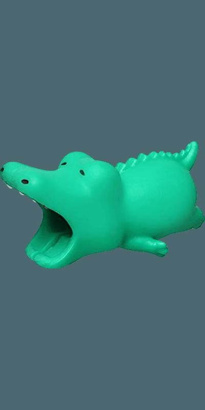 Apple iPhone 11 Pro Max kábelvédő krokodil