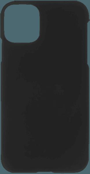 Apple iPhone 11 Pro Max kemény hátlap gumírozott fekete