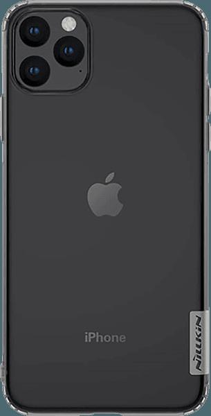 Apple iPhone 11 Pro Max szilikon tok gyári NILLKIN légpárnás sarok szürke