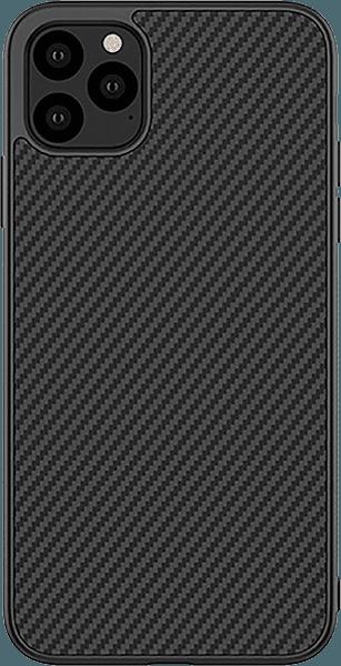 Apple iPhone 11 Pro Max kemény hátlap gyári NILLKIN karbon mintás fekete