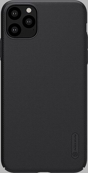 Apple iPhone 11 Pro Max kemény hátlap gyári NILLKIN gumírozott-érdes felületű fekete