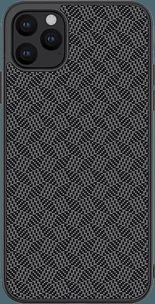 Apple iPhone 11 Pro Max kemény hátlap gyári NILLKIN 3D csíkos minta fekete