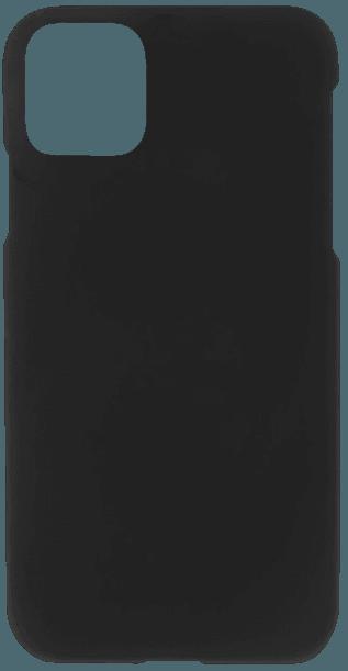 Apple iPhone 11 kemény hátlap gumírozott fekete