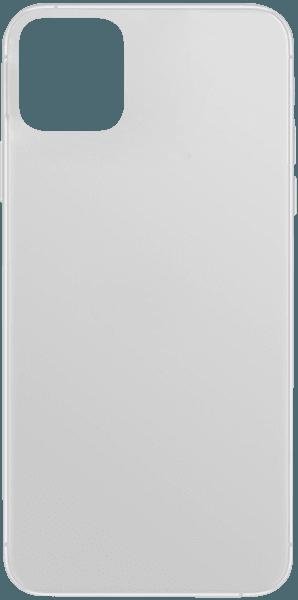 Apple iPhone 11 Pro Max kemény hátlap gumírozott átlátszó