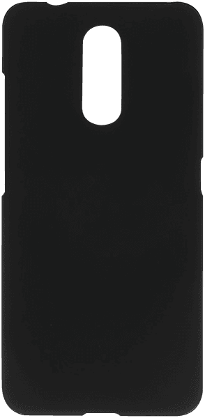Nokia 3 2019 (Nokia 3.2) kemény hátlap gumírozott fekete