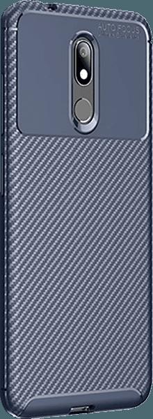 Nokia 3 2019 (Nokia 3.2) ütésálló tok légpárnás sarok sötétkék