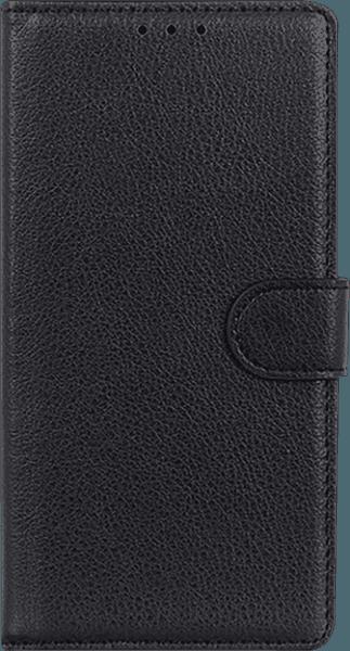 Nokia 3 2019 (Nokia 3.2) oldalra nyíló flipes bőrtok asztali tartó funkciós fekete