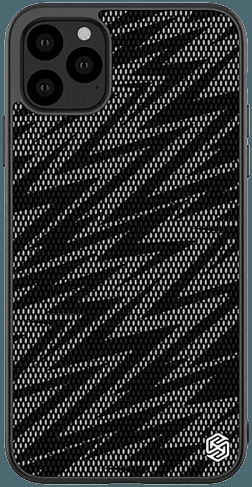 Apple iPhone 11 Pro Max szilikon tok gyári NILLKIN műanyag hátlap fekete