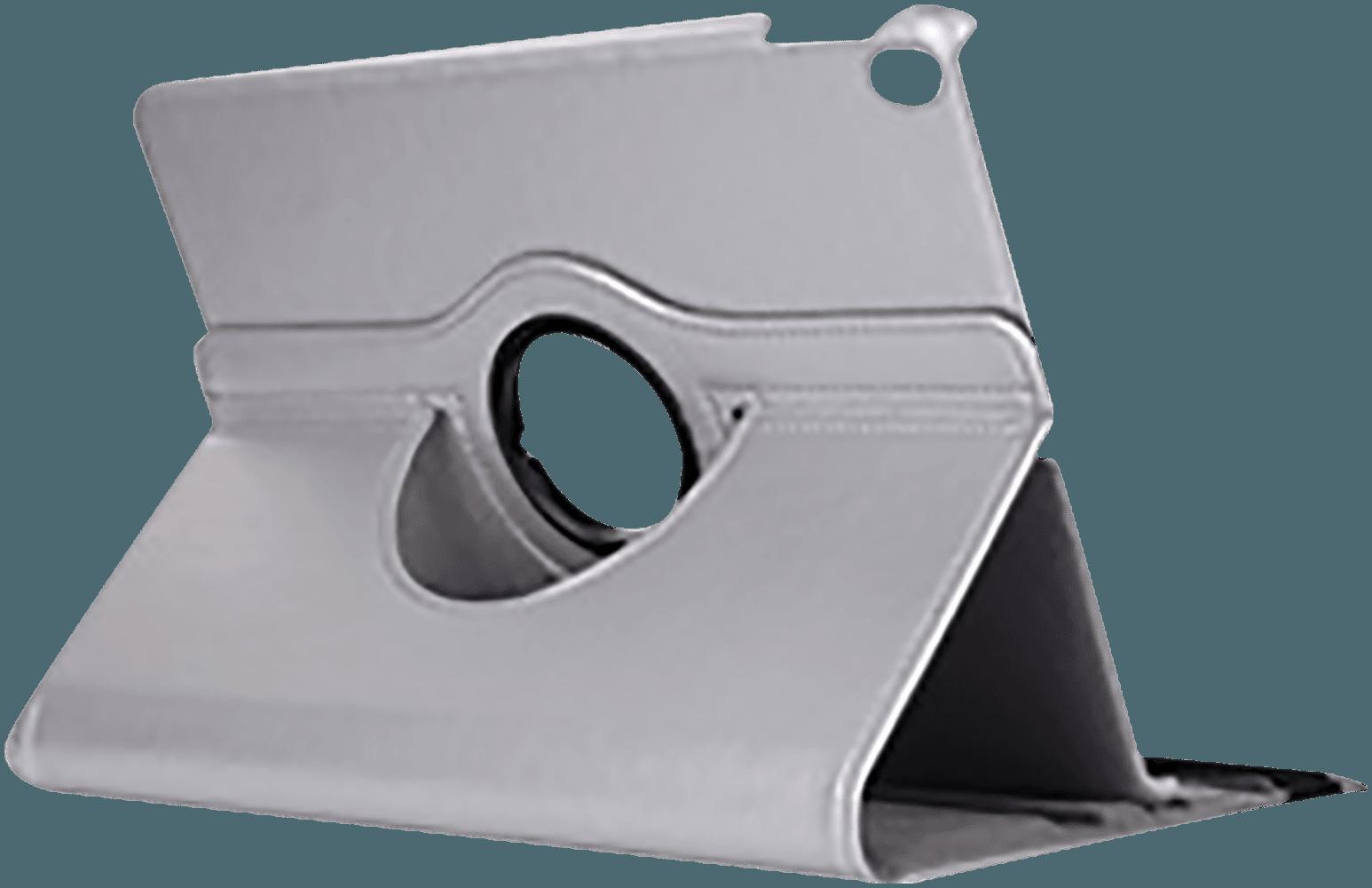Apple iPad Pro 2017 10.5 oldalra nyíló flipes bőrtok 360° ban forgatható ezüst