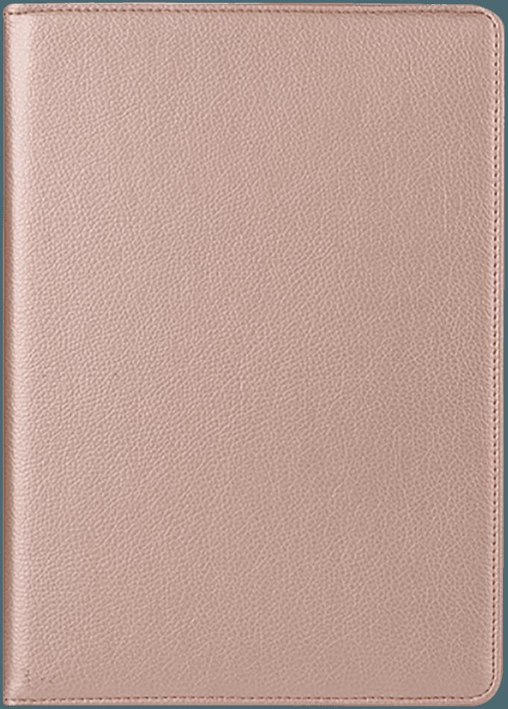 Apple iPad Pro 2017 10.5 oldalra nyíló flipes bőrtok 360° ban forgatható arany