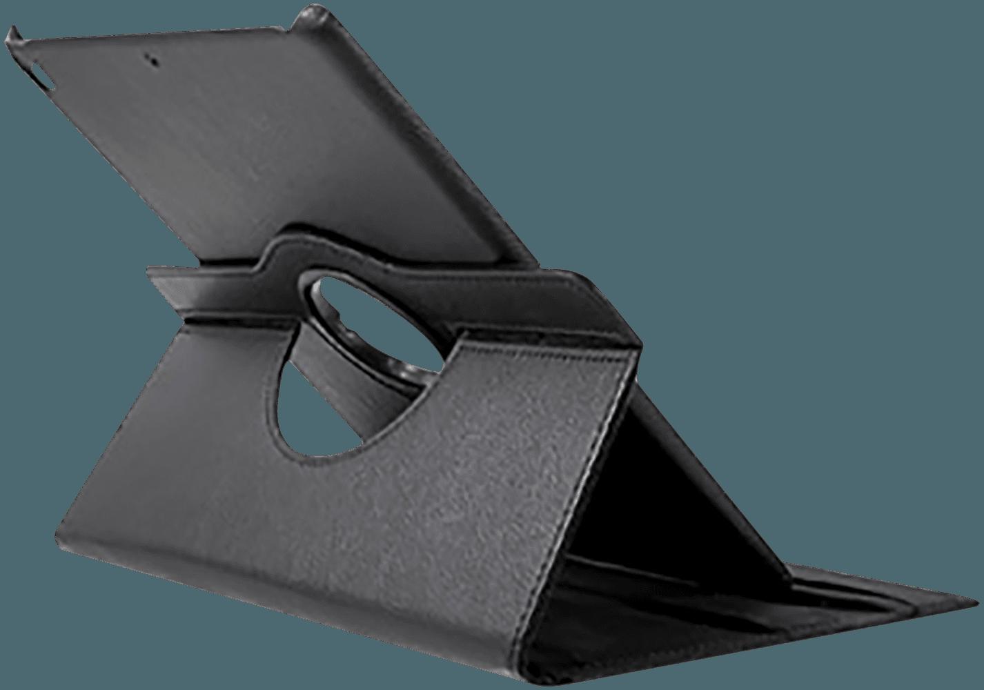 Apple iPad Pro 2017 10.5 oldalra nyíló flipes bőrtok 360° ban forgatható fekete