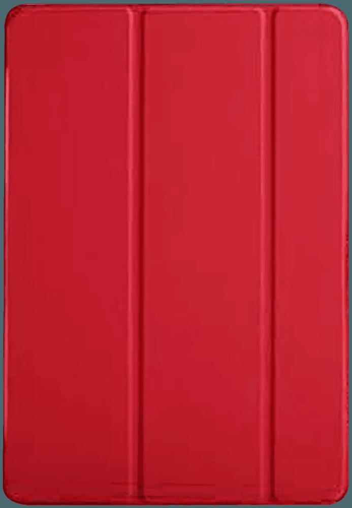 Apple iPad Pro 2017 10.5 oldalra nyíló flipes bőrtok TRIFOLD asztali tartó funkció piros