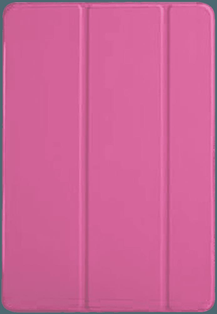 Apple iPad Pro 2017 10.5 oldalra nyíló flipes bőrtok TRIFOLD asztali tartó funkció rózsaszín