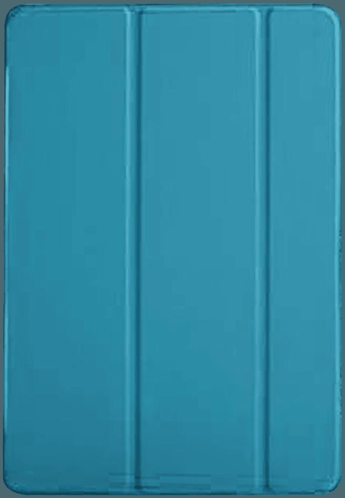 Apple iPad Pro 2017 10.5 oldalra nyíló flipes bőrtok TRIFOLD asztali tartó funkció kék