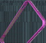 Apple iPhone 5 bumper strasszköves rózsaszín