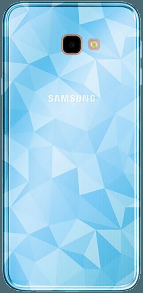 Samsung Galaxy J4 Plus (J415F) szilikon tok 3D gyémántmintás világoskék