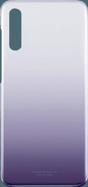 Samsung Galaxy A70s (SM-A707F) kemény hátlap gyári SAMSUNG színátmenetes lila