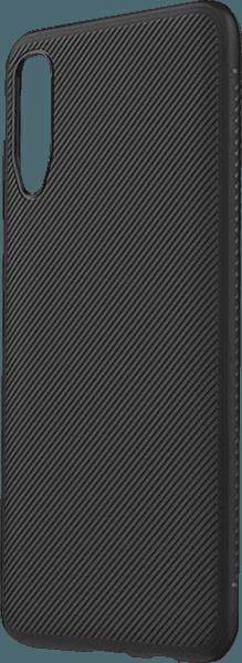 Samsung Galaxy A70s (SM-A707F) szilikon tok csíkos fekete