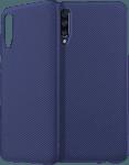 Samsung Galaxy A70s (SM-A707F) szilikon tok csíkos sötétkék