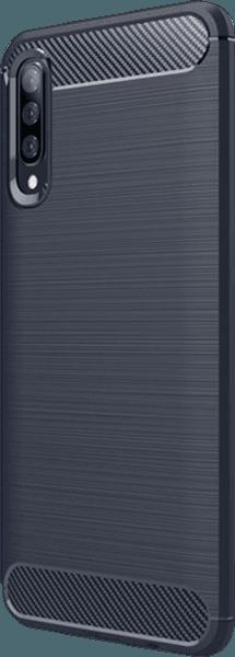Samsung Galaxy A70s (SM-A707F) ütésálló tok légpárnás sarok sötétkék