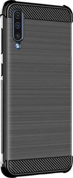Samsung Galaxy A70s (SM-A707F) ütésálló tok gyári IMAK légpárnás sarok fekete