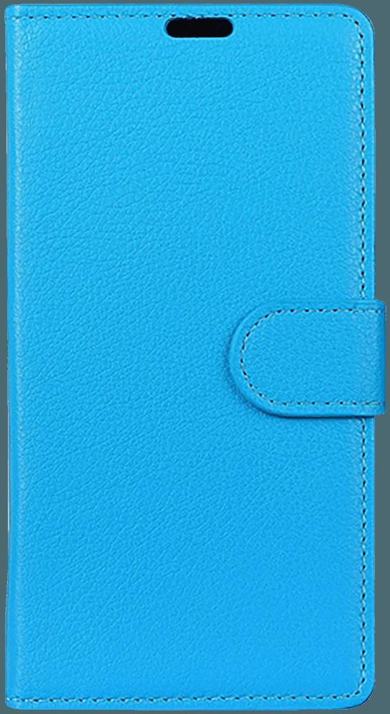 Xiaomi Mi Play oldalra nyíló flipes bőrtok asztali tartó funkciós kék