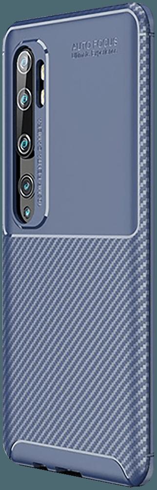 Xiaomi Mi Note 10 Pro ütésálló tok légpárnás sarok kék