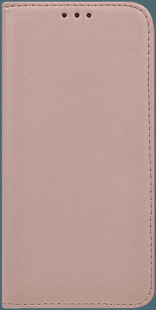 Xiaomi Mi Note 10 Pro oldalra nyíló flipes bőrtok asztali tartó funkciós rozéarany