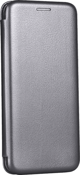 Apple iPhone 6S oldalra nyíló mágneses flipes bőrtok prémium minőség ezüst