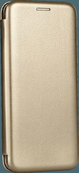 Apple iPhone XS oldalra nyíló mágneses flipes bőrtok prémium minőség arany