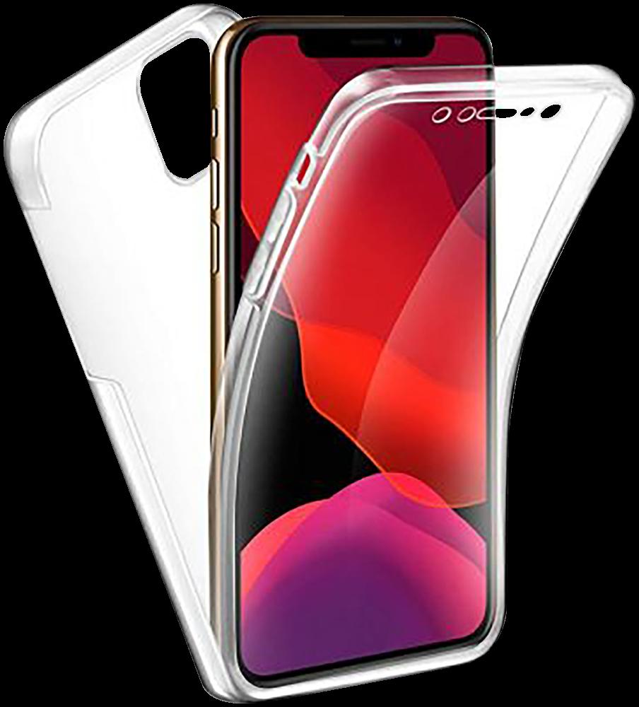 Apple iPhone 11 Pro Max szilikon tok 360° védelem átlátszó